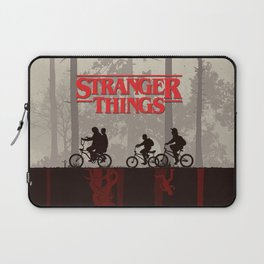 A little too strange Laptop Sleeve