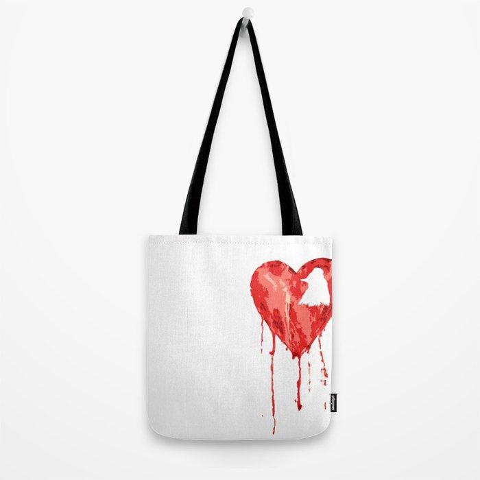 B/ood Heart Tote Bag