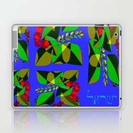 Fruits and Leaves of Israel, Hebrew Laptop & iPad Skin