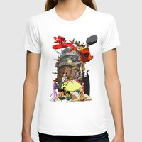 calcifer T-shirts featuring Studio of Dreams by CromMorc