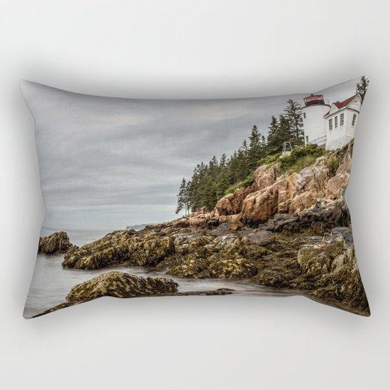 Bass Harbor Lighthouse - Acadia National Park Rectangular Pillow