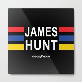 The Hunt lid Metal Print