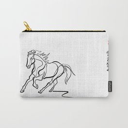 ~ghost.Horse~ Carry-All Pouch