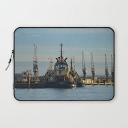 Tug Boat In The Evening Light Laptop Sleeve