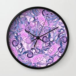 Riptide_floss Wall Clock