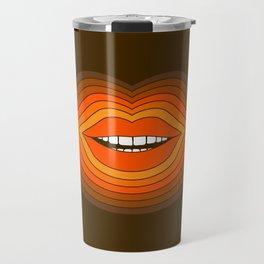 Pop Lips - Golden Travel Mug