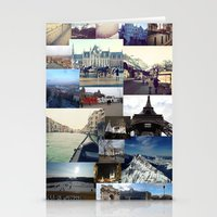 europe Stationery Cards featuring Europe by Nikki Morgan