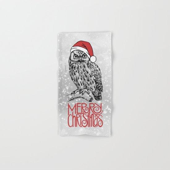 Merry Christmas II Hand & Bath Towel
