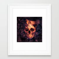 mortal instruments Framed Art Prints featuring Mortal Sin by Sirenphotos