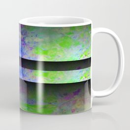 Green Color Blinds Coffee Mug