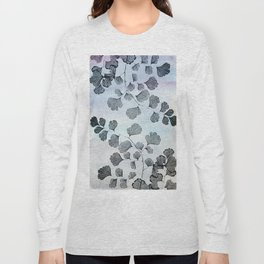 vintage floral pattern in pastel colors Long Sleeve T-shirt