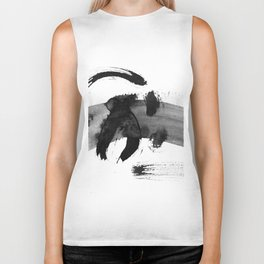 Brush black away Biker Tank