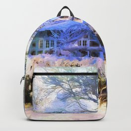 It´s a sunny day in winter Backpack