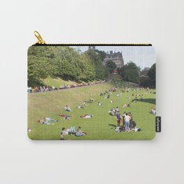 Princes Street Gardens on a sunny day 1 Carry-All Pouch