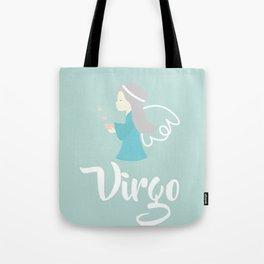 Virgo Aug 23 - Sep 22 - Earth sign - Zodiac symbols Tote Bag