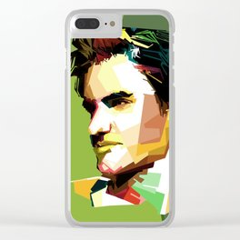 dear roger federer Clear iPhone Case