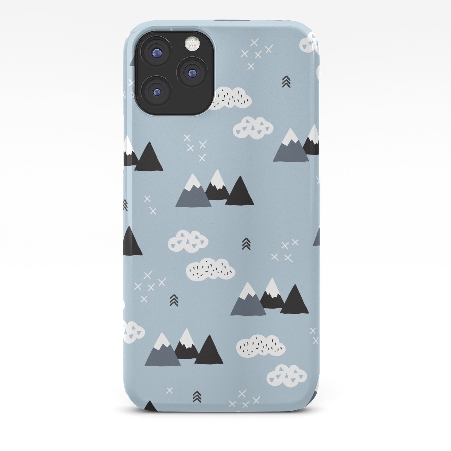 Angry Mountain iPhone 11 case