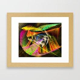 Insperation of colors Framed Art Print