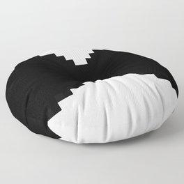 Pixel mustache Floor Pillow