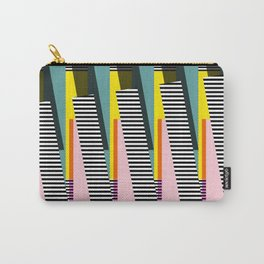 Stripped Carry-All Pouch
