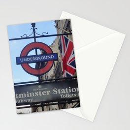 London - Going Underground Stationery Cards