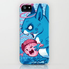 Zombie Squirrel iPhone Case