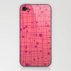 Woven Web pink iPhone & iPod Skin
