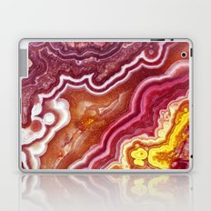 Red onyx marble Laptop & iPad Skin