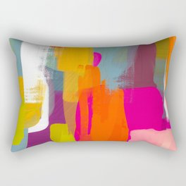 color study abstract art 2 Rectangular Pillow