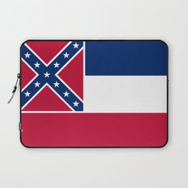 Flag of Mississippi - High quality authentic Laptop Sleeve