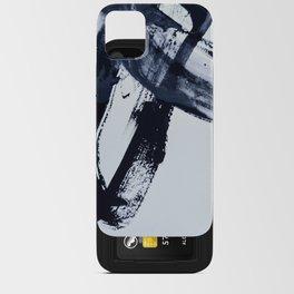 Ivory Black iPhone Card Case