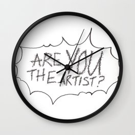 well, are you? Wall Clock