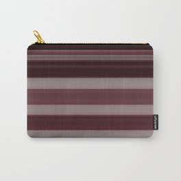 Plum Stripe Carry-All Pouch