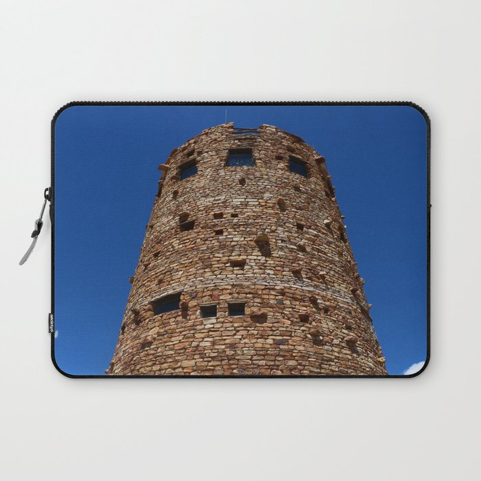 Desert View Watchtower - South Rim Grand Canyon Laptop Sleeve