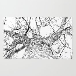 #inktober2016:tree Rug