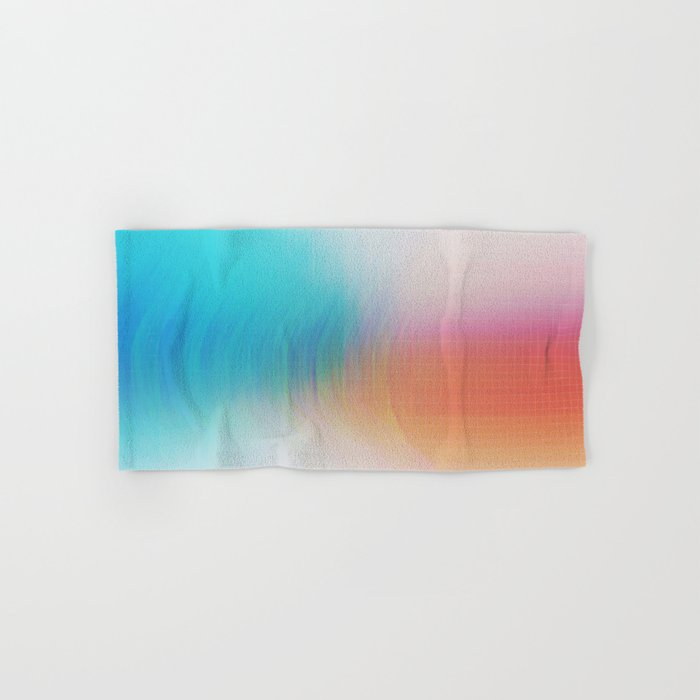 Glitch 08 Hand & Bath Towel
