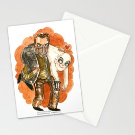 Mad Max and Nux Hug Stationery Cards