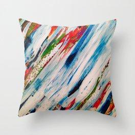 Cloudsmear Throw Pillow