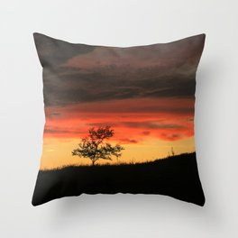 Live another day Throw Pillow