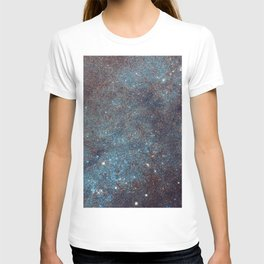Awesome Andromeda Galaxy Photograph by NASA Hubble Telescope T-shirt