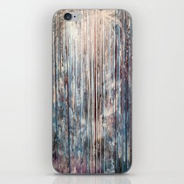 Blue Away iPhone Skin