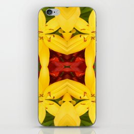 """""""A Gathering of Lilies"""" Remix - 3 (4-1) [D4468~49] iPhone Skin"""