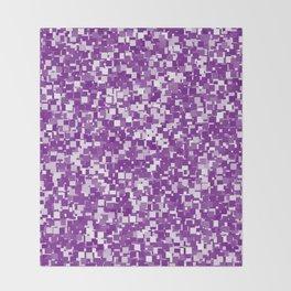 Winterberry Pixels Throw Blanket