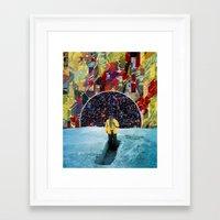 portal 2 Framed Art Prints featuring PORTAL  by Blaz Rojs