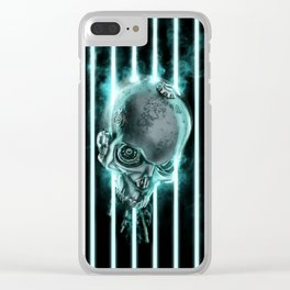System Shutdown Clear iPhone Case