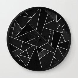Black Stone Wall Clock