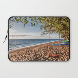 Dauin Beach at Sunrise Laptop Sleeve