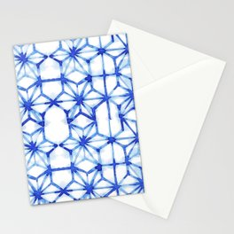 Abstract geometric star Stationery Cards