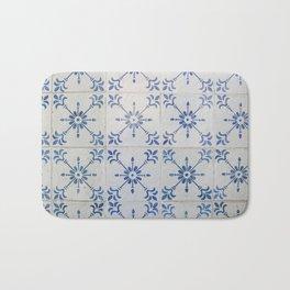 Portuguese tile 7 Bath Mat