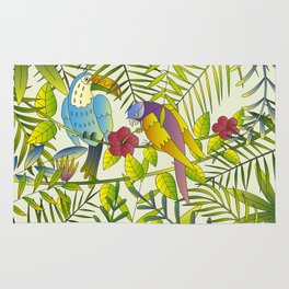 Tropical Paradise Pattern 1 Rug